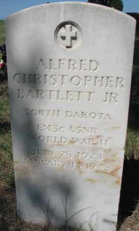 BARTLETT, ALFRED CHRISTOPHER JR. - Mellette County, South Dakota | ALFRED CHRISTOPHER JR. BARTLETT - South Dakota Gravestone Photos
