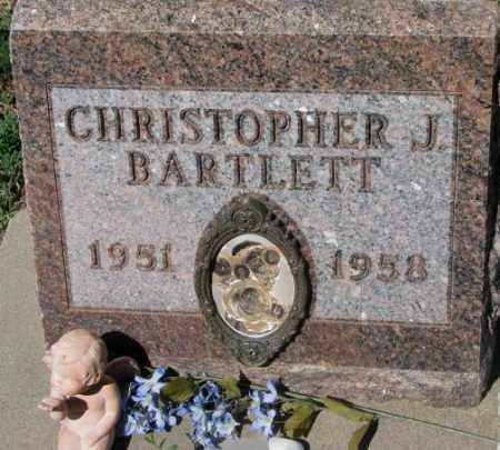 BARTLETT, CHRISTOPHER J. - Mellette County, South Dakota | CHRISTOPHER J. BARTLETT - South Dakota Gravestone Photos