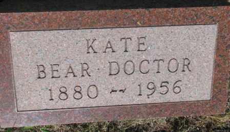 BEAR DOCTOR, KATE - Mellette County, South Dakota   KATE BEAR DOCTOR - South Dakota Gravestone Photos