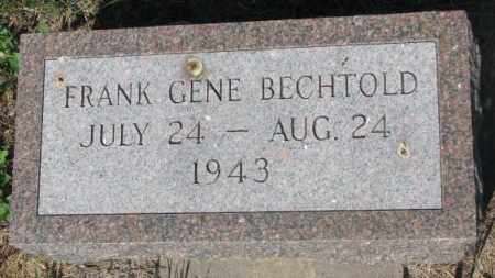 BECHTOLD, FRANK GENE - Mellette County, South Dakota | FRANK GENE BECHTOLD - South Dakota Gravestone Photos
