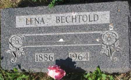 BECHTOLD, LENA - Mellette County, South Dakota   LENA BECHTOLD - South Dakota Gravestone Photos