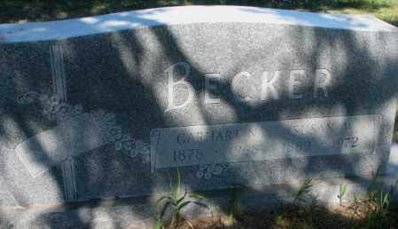 BECKER, SUSAN W. - Mellette County, South Dakota | SUSAN W. BECKER - South Dakota Gravestone Photos