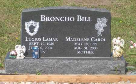 BRONCHO BILL, LUCIUS  LAMAR - Mellette County, South Dakota   LUCIUS  LAMAR BRONCHO BILL - South Dakota Gravestone Photos