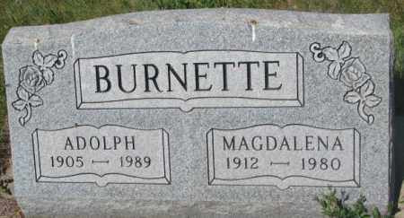 BURNETTE, ADOLPH - Mellette County, South Dakota | ADOLPH BURNETTE - South Dakota Gravestone Photos