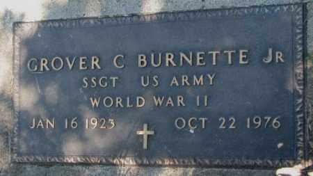 BURNETTE, GROVER C. JR. - Mellette County, South Dakota | GROVER C. JR. BURNETTE - South Dakota Gravestone Photos