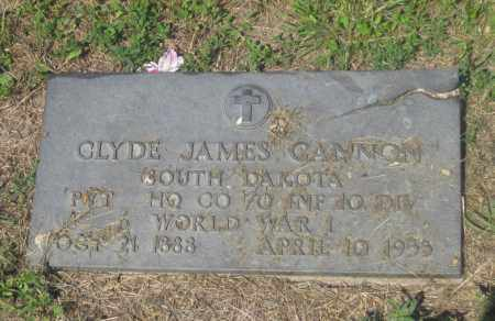 CANNON, CLYDE  JAMES - Mellette County, South Dakota | CLYDE  JAMES CANNON - South Dakota Gravestone Photos