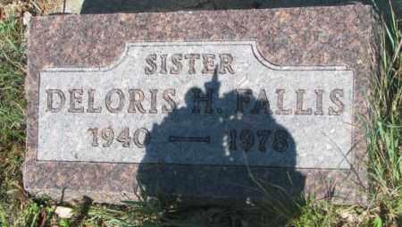 FALLIS, DELORIS H. - Mellette County, South Dakota | DELORIS H. FALLIS - South Dakota Gravestone Photos