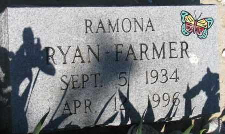 FARMER, RAMONA - Mellette County, South Dakota | RAMONA FARMER - South Dakota Gravestone Photos