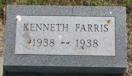 FARRIS, KENNETH - Mellette County, South Dakota   KENNETH FARRIS - South Dakota Gravestone Photos
