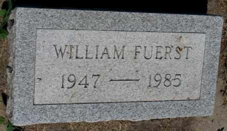 FUERST, WILLIAM - Mellette County, South Dakota | WILLIAM FUERST - South Dakota Gravestone Photos