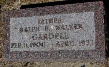 GARDELL, RALPH E. - Mellette County, South Dakota | RALPH E. GARDELL - South Dakota Gravestone Photos
