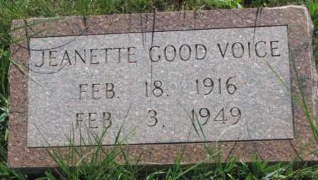 GOOD VOICE, JEANETTE - Mellette County, South Dakota | JEANETTE GOOD VOICE - South Dakota Gravestone Photos
