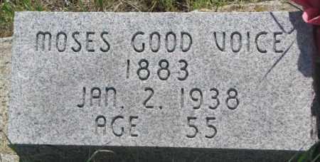 GOOD VOICE, MOSES - Mellette County, South Dakota | MOSES GOOD VOICE - South Dakota Gravestone Photos
