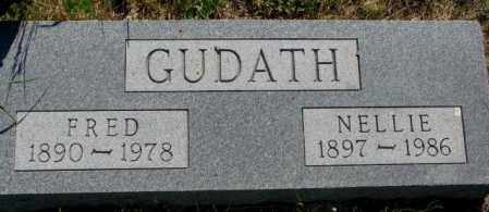 GUDATH, FRED - Mellette County, South Dakota | FRED GUDATH - South Dakota Gravestone Photos