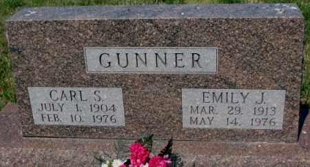 GUNNER, EMILY J. - Mellette County, South Dakota | EMILY J. GUNNER - South Dakota Gravestone Photos
