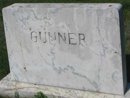 GUNNER, FAMILY STONE - Mellette County, South Dakota | FAMILY STONE GUNNER - South Dakota Gravestone Photos
