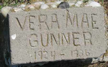 GUNNER, VERA MAE - Mellette County, South Dakota | VERA MAE GUNNER - South Dakota Gravestone Photos