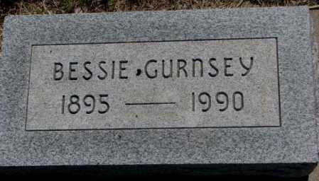 GURNSEY, BESSIE - Mellette County, South Dakota | BESSIE GURNSEY - South Dakota Gravestone Photos