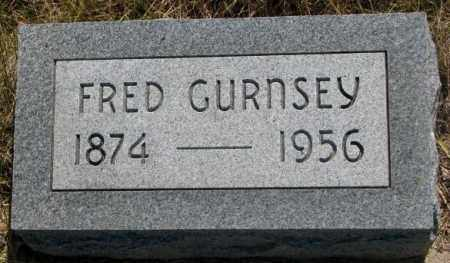 GURNSEY, FRED - Mellette County, South Dakota | FRED GURNSEY - South Dakota Gravestone Photos