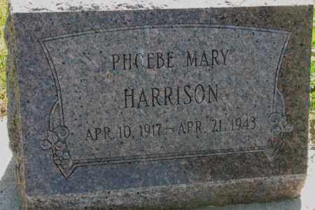 HARRISON, PHOEBE MARY - Mellette County, South Dakota | PHOEBE MARY HARRISON - South Dakota Gravestone Photos