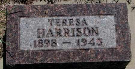 HARRISON, TERESA - Mellette County, South Dakota   TERESA HARRISON - South Dakota Gravestone Photos