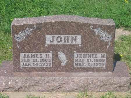 JOHN, JAMES  H. - Mellette County, South Dakota | JAMES  H. JOHN - South Dakota Gravestone Photos