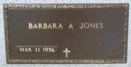 JONES, BARBARA A. - Mellette County, South Dakota | BARBARA A. JONES - South Dakota Gravestone Photos