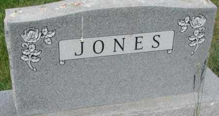 JONES, PLOT - Mellette County, South Dakota | PLOT JONES - South Dakota Gravestone Photos