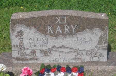 KARY, JEAN  A. - Mellette County, South Dakota   JEAN  A. KARY - South Dakota Gravestone Photos