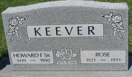 KEEVER, ROSE - Mellette County, South Dakota | ROSE KEEVER - South Dakota Gravestone Photos