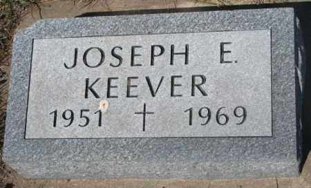 KEEVER, JOSEPH E. - Mellette County, South Dakota | JOSEPH E. KEEVER - South Dakota Gravestone Photos