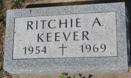 KEEVER, RITCHIE A. - Mellette County, South Dakota | RITCHIE A. KEEVER - South Dakota Gravestone Photos