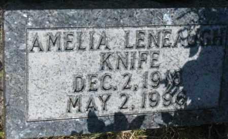 LENEAUGH KNIFE, AMELIA - Mellette County, South Dakota | AMELIA LENEAUGH KNIFE - South Dakota Gravestone Photos