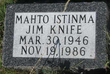 KNIFE, JIM - Mellette County, South Dakota   JIM KNIFE - South Dakota Gravestone Photos