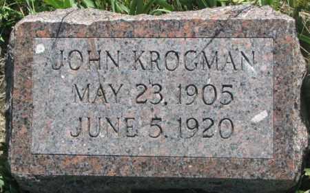 KROGMAN, JOHN - Mellette County, South Dakota | JOHN KROGMAN - South Dakota Gravestone Photos