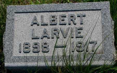LARVIE, ALBERT - Mellette County, South Dakota   ALBERT LARVIE - South Dakota Gravestone Photos