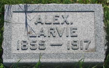 LARVIE, ALEX - Mellette County, South Dakota | ALEX LARVIE - South Dakota Gravestone Photos