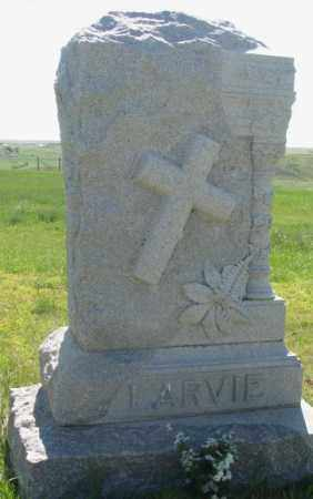 LARVIE, FAMILY PLOT MARKER - Mellette County, South Dakota | FAMILY PLOT MARKER LARVIE - South Dakota Gravestone Photos