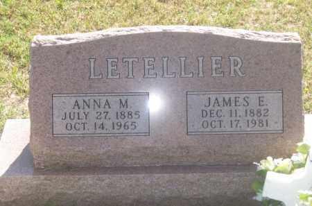 LETELLIER, ANNA  M. - Mellette County, South Dakota | ANNA  M. LETELLIER - South Dakota Gravestone Photos
