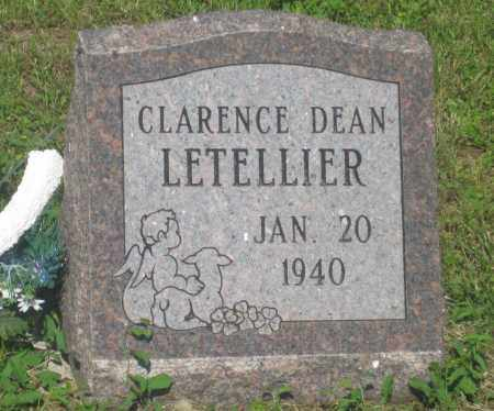 LETELLIER, CLARENCE  DEAN - Mellette County, South Dakota | CLARENCE  DEAN LETELLIER - South Dakota Gravestone Photos