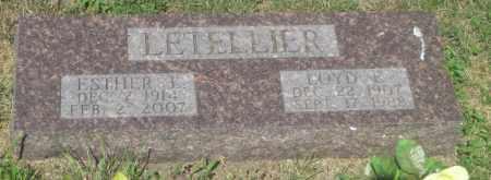 LETELLIER, LOYD  E. - Mellette County, South Dakota | LOYD  E. LETELLIER - South Dakota Gravestone Photos