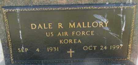 MALLORY, DALE R. - Mellette County, South Dakota | DALE R. MALLORY - South Dakota Gravestone Photos