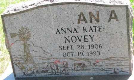 NOVEY, ANNA KATE - Mellette County, South Dakota   ANNA KATE NOVEY - South Dakota Gravestone Photos