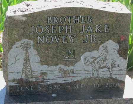 NOVEY, JOSEPH JAKE JR. - Mellette County, South Dakota | JOSEPH JAKE JR. NOVEY - South Dakota Gravestone Photos