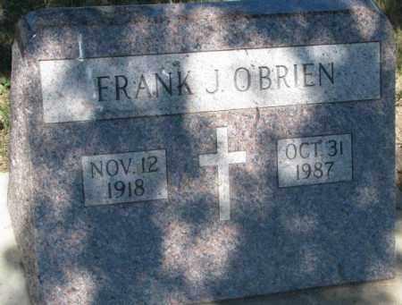 O'BRIEN, FRANK J. - Mellette County, South Dakota | FRANK J. O'BRIEN - South Dakota Gravestone Photos