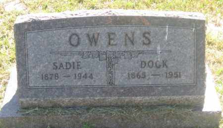 OWENS, SADIE - Mellette County, South Dakota | SADIE OWENS - South Dakota Gravestone Photos