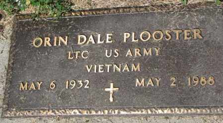PLOOSTER, ORIN DALE (MILITARY) - Mellette County, South Dakota | ORIN DALE (MILITARY) PLOOSTER - South Dakota Gravestone Photos