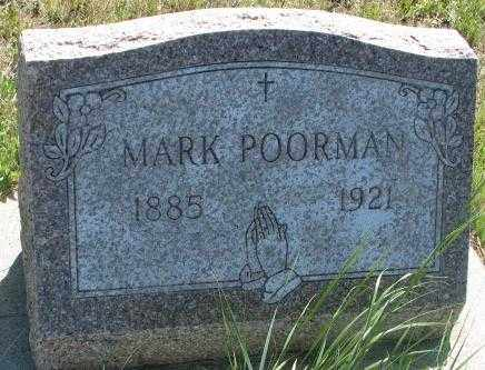 POORMAN, MARK - Mellette County, South Dakota | MARK POORMAN - South Dakota Gravestone Photos