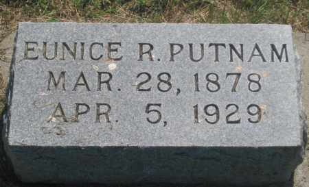PUTNAM, EUNICE  R. - Mellette County, South Dakota | EUNICE  R. PUTNAM - South Dakota Gravestone Photos