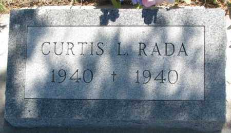 RADA, CURTIS L. - Mellette County, South Dakota | CURTIS L. RADA - South Dakota Gravestone Photos